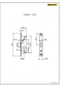 zámek ZB1